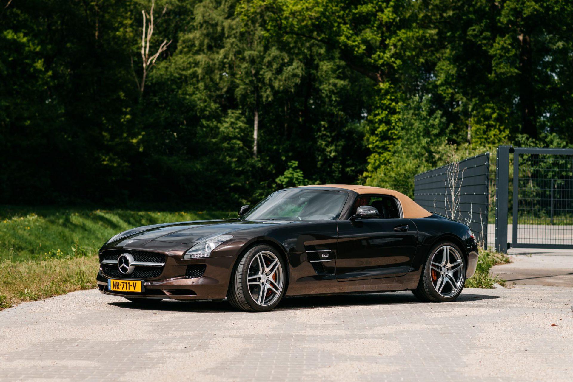 Mercedes SLS Cabriolet huren